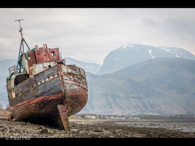 Paul Hill – The Corpach Wreck and Ben Nevis-2