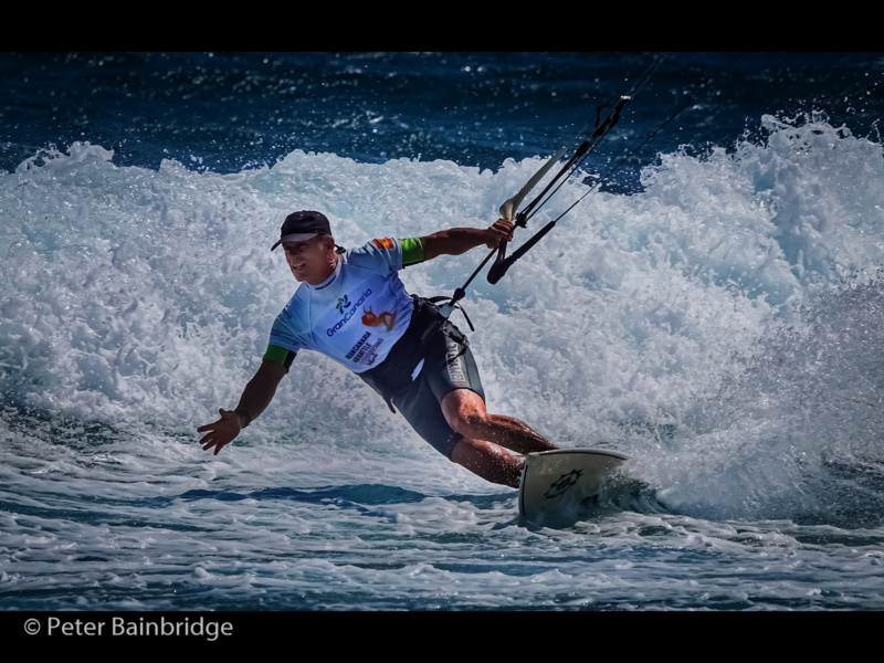 Peter Bainbridge – Taking on the Surf-2